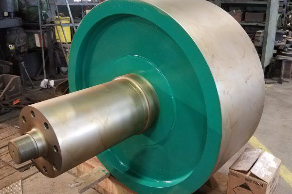 48-inch Trunnion with Shaft