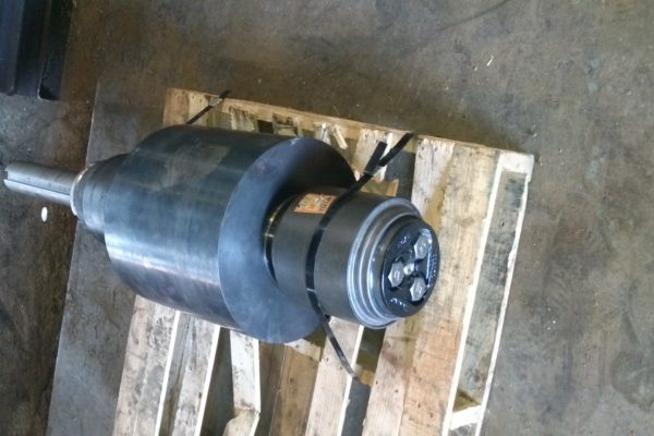 16-inch Trunnion with Railroad Style Bearings
