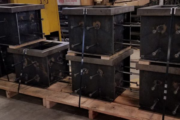 Custom Fabricated Boxes for Fragmentation Chamber