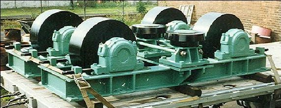 Base Frame with Trunnion Assembly